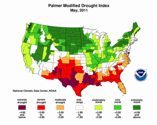 Palmer Drought Index_061611.png